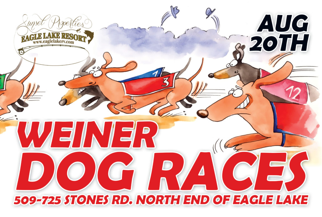 Weiner Dog Races flyer